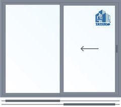 Алюминиевое окно Татпроф 2000*1600 раздвижное