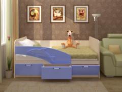 Детская кровать Детская кровать Регион 058 Дельфин МДФ 1.6 (фасад 3D)