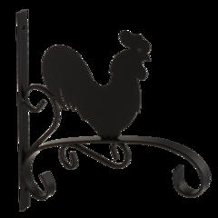Полкодержатель, крючок Domax Кронштейн для кашпо декоративный UK 4 Петушок 542301