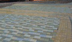Тротуарная плитка Тротуарная плитка квадрат Color Mix Луговая трава