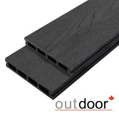 Декинг Декинг Outdoor 3D Arizona Black ДПК 150x25x4000 (черная)