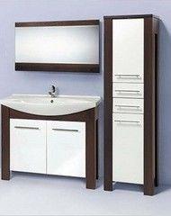 Мебель для ванной комнаты Акваль Латте 105