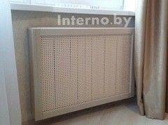 Экран для радиаторов Interno.by МДФ шпонированный 4