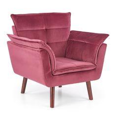 Кресло Halmar Rezzo (бургундия)