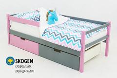 Детская кровать Детская кровать Бельмарко Skogen лаванда-графит