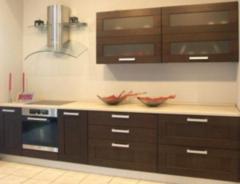 Кухня Кухня на заказ ЗОВ Техно-4 Венге