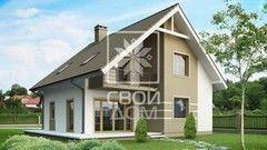 Свой Дом Проект двухэтажного дома 7