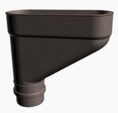 Водосточная система Docke Lux Коллектор трубы (шоколад)