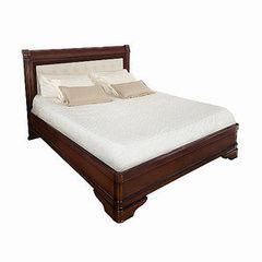 Кровать Кровать Timber Палермо с обивкой T-750 вишня