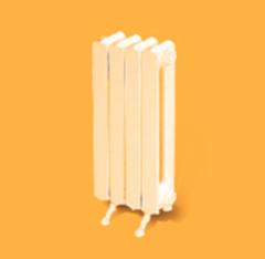 Радиатор отопления Радиатор отопления Минский завод отопительного оборудования 2К60П (7 секций)