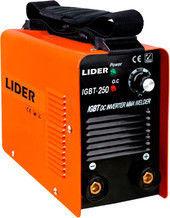 Сварочный аппарат Сварочный аппарат LIDER IGBT-250