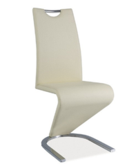 Кухонный стул Signal H-090 (кремовый/ хром)