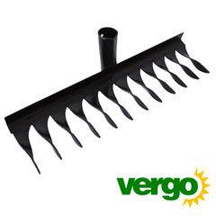 Посадочный инструмент, садовый инвентарь, инструменты для обработки почвы Вергохоз Грабли металлические (00000000635)