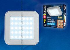 Светодиодный светильник Uniel ULE-S03-3W/NW IP41 silver