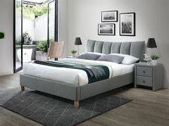 Кровать Кровать Halmar Sandy 2 160 (серый/бук)