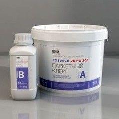 Клей Клей Coswick 2K PU 205 (ведро 10 кг, бутылка 1,2 кг)