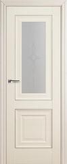 Межкомнатная дверь Раздвижные двери ProfilDoors 28X Эш Вайт узор 3