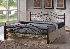Кровать Кованая кровать Red&Black Джуди