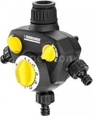 Система автоматического полива Karcher Контроллер Karcher Таймер поливочный WT 2000 3 выхода [2.645-209.0]