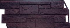 Фасадная панель FineBer Камень природный (коричневый)