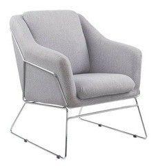 Кресло Halmar Soft (пепельный)