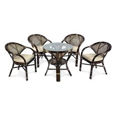 Комплект мебели из ротанга ЭкоДизайн Classic Rattan Mokko+Java Б