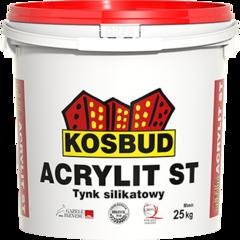 Штукатурка Штукатурка Kosbud Acrylit 25 кг барашек силикатная