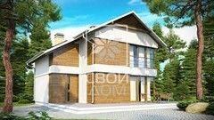 Свой Дом Проект двухэтажного дома 4