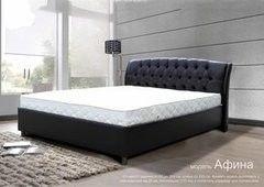 Кровать Кровать Настоящая мебель Афина ночь 200х200
