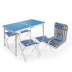 Nika Складной стол влагостойкий, 4 стула ССТ-К2