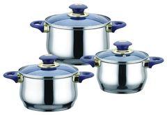 Наборы посуды Bekker Jumbo BK-962 / BK-963 / BK-964 6 пр.