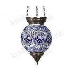 Светильник Kinklight 0115  МАРОККО голубой