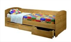 Детская кровать Детская кровать Гомельдрев ГМ 9292 (слоновая кость с патинированием)