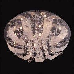 Светильник Светильник Евросвет 5444/8 хром с подсветкой