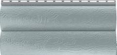 Сайдинг Сайдинг Альта-Профиль Blockhouse Серебритый (однопереломный акриловый)