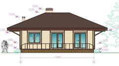 Лучший дом Проект дома М040112