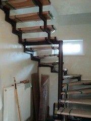 Металлическая лестница Вестпро Пример 91