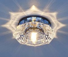 Встраиваемый светильник Elektrostandard 6262 зеркальный / синий (BL)
