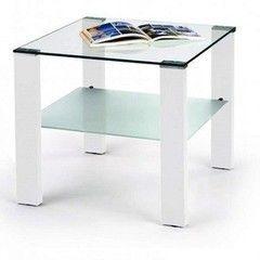 Журнальный столик Halmar Simple H kwadrat (белый)