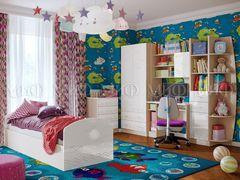 Детская комната Детская комната МиФ Юниор-2 (ваниль металлик)