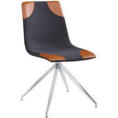 Кухонный стул Atreve Lars 1 (серый+коричневый/хром)