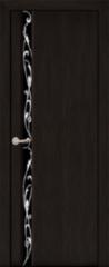 Межкомнатная дверь Межкомнатная дверь Юркас Дакар ДО (черный шелк) ПВХ