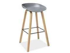 Барный стул Барный стул Signal Sting (серый/дуб)