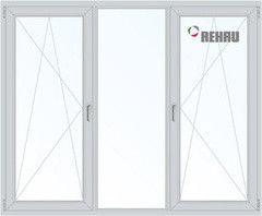 Окно ПВХ Rehau Окно ПВХ 2060*1420 2К-СП, 4К-П, П/О+Г+П/O