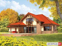 Строительство домов Строительство домов Archipelag Эдек (Г2) с мансардой
