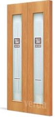 Межкомнатная дверь Дверь-гармошка VERDA С-21 ДО Модерн (складная)