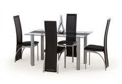 Обеденный стол Обеденный стол Halmar Talon (черный)