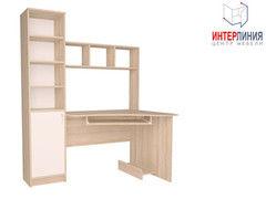 Письменный стол Интерлиния СК-005 Дуб сонома+Белый