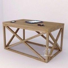 Журнальный столик MillWood Neo Loft СТ-2 (дуб натуральный, черный металл)