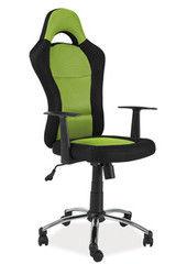 Офисное кресло Офисное кресло Signal Q-039 (черный/зеленый)